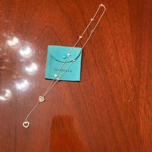Tiffany & Co Elsa Peretti Heart Lariat